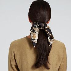 Chain Print Hair Tie  CHAIN PRINT  hi-res