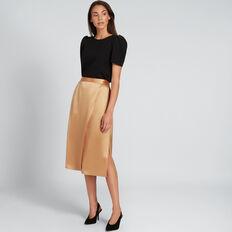 Wrap Skirt  GOLDEN TAN  hi-res