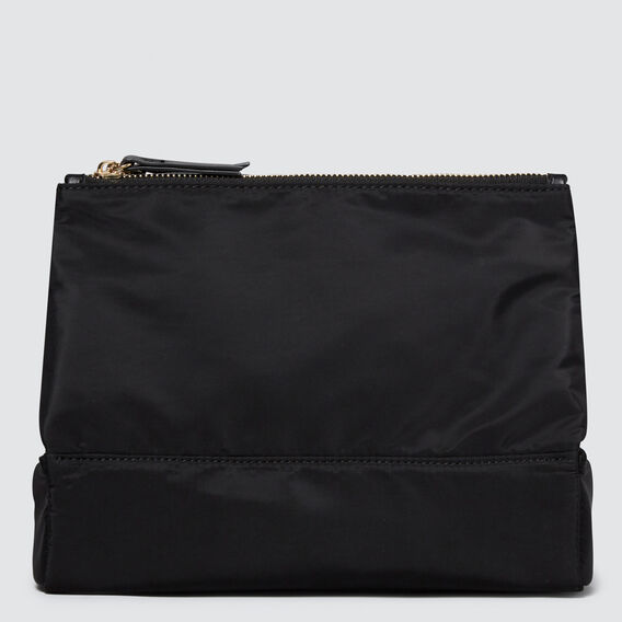 Folding Beauty Bag  BLACK  hi-res