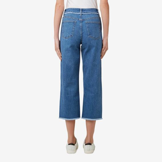 Straight Leg Fashion Jean  DEEP BLUE DENIM  hi-res