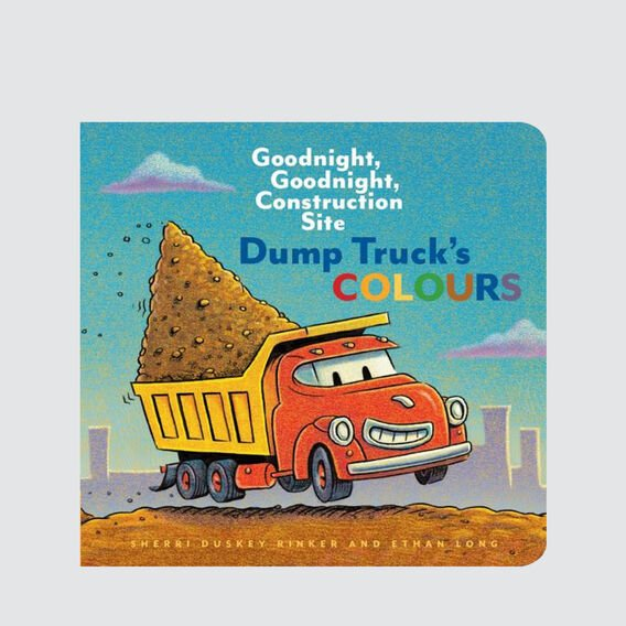 Dump Trucks Colour Book  MULTI  hi-res