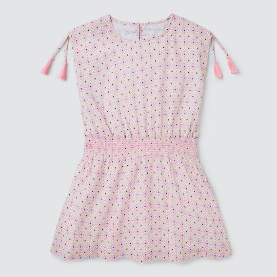 Geo Yardage Dress  MULTI  hi-res