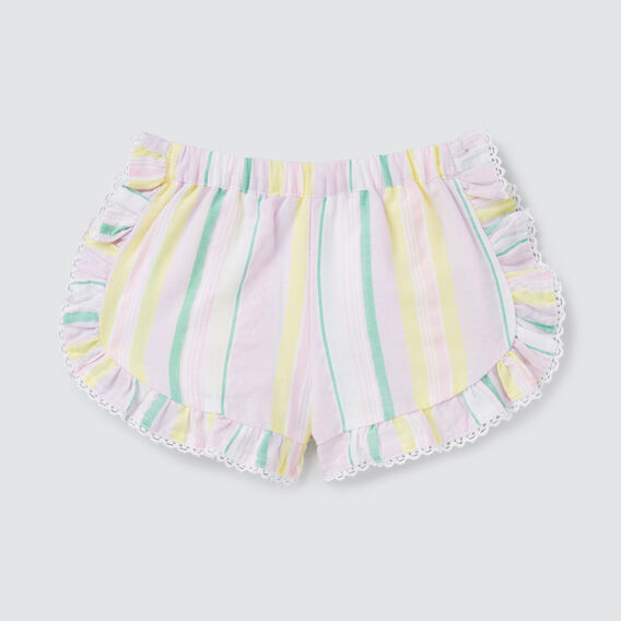 Rainbow Stripe Shorts  MULTI  hi-res