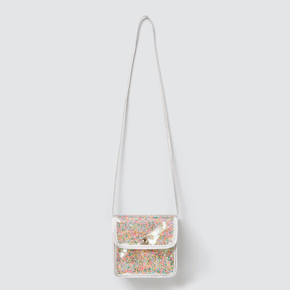 Confetti Star Bag  SILVER  hi-res