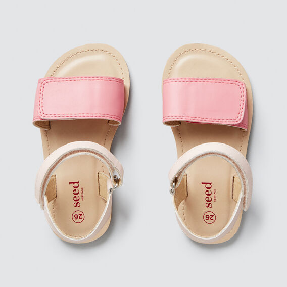 Two-Tone Sandal  PINK  hi-res