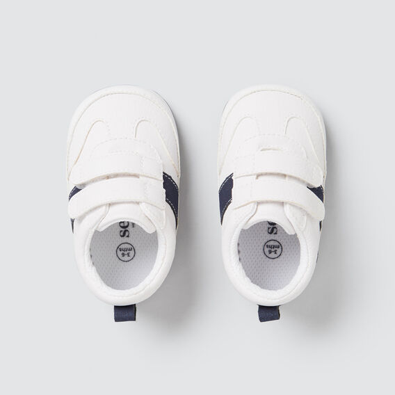 White Navy Runner  WHITE/NAVY  hi-res