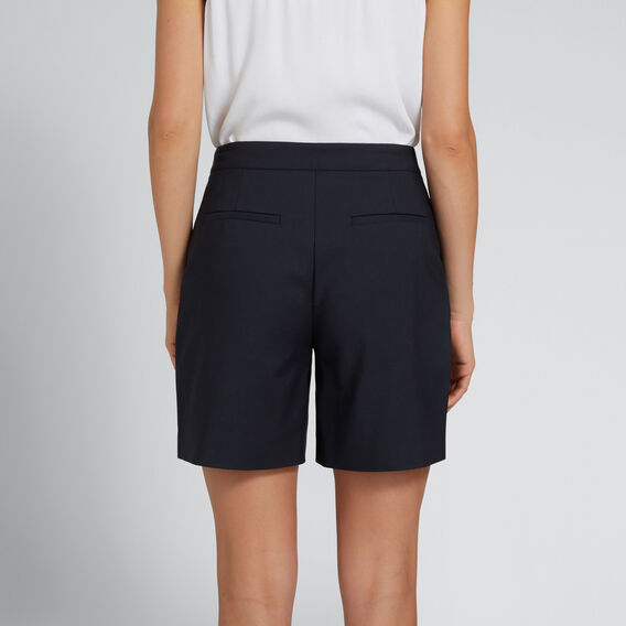 Longline Structured Short  DEEP NAVY  hi-res