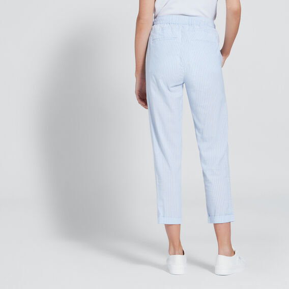 Basic Stripe Pant  CHAMBRAY STRIPE  hi-res