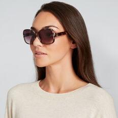 Aimee D-Frame Sunglasses  GREY TORT  hi-res