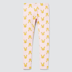 Bunny Face Leggings  ICE PINK MARLE  hi-res