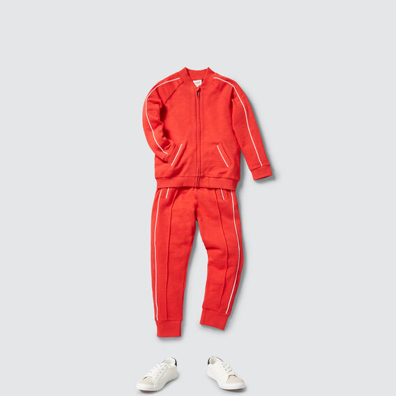Retro Track Pant  FIRE ENGINE RED  hi-res