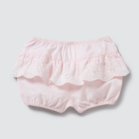 Broderie Frill Bloomer  ICE PINK  hi-res