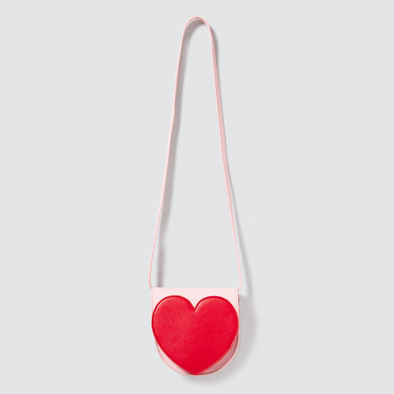 Heart Saddle Bag  ICE PINK  hi-res
