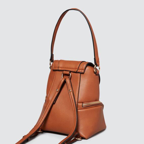 Mini Convertible Backpack  TAN  hi-res
