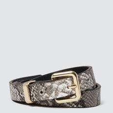 Ocelot Skinny Belt  SNAKE  hi-res