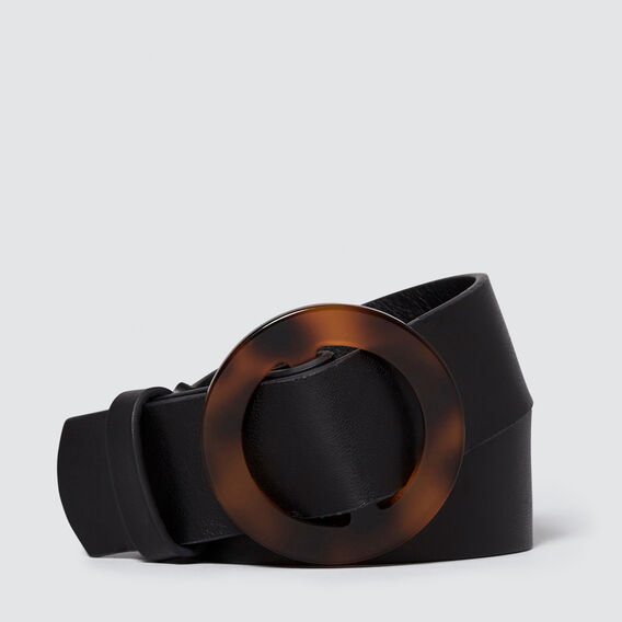 Tort Buckle Belt  BLACK/TORT  hi-res
