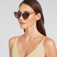 Olivia Cat Eye Sunglasses  OLIVE TORT  hi-res