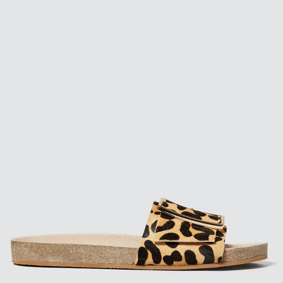 Kelly Footbed Slide  OCELOT  hi-res