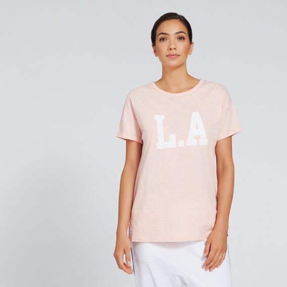 L.A. Tee  BLUSH  hi-res