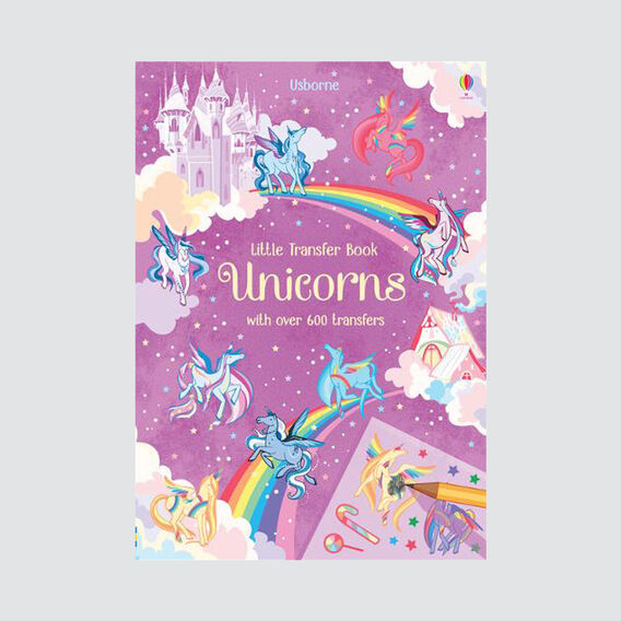 Little Unicorns Transfer Book  MULTI  hi-res