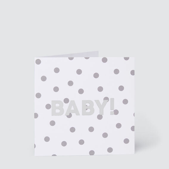 Small Baby Spot Card  MULTI  hi-res