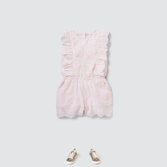 Broderie Playsuit  ICE PINK  hi-res