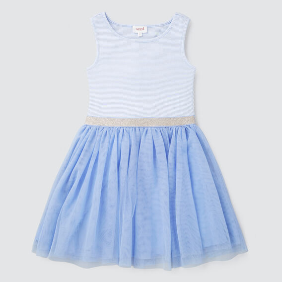Tutu Dress  CORNFLOWER  hi-res