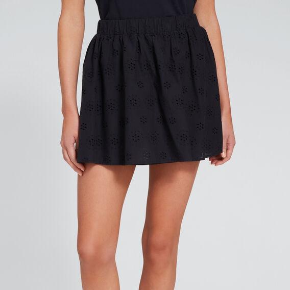 Mini Broderie Skirt  DEEP NAVY  hi-res
