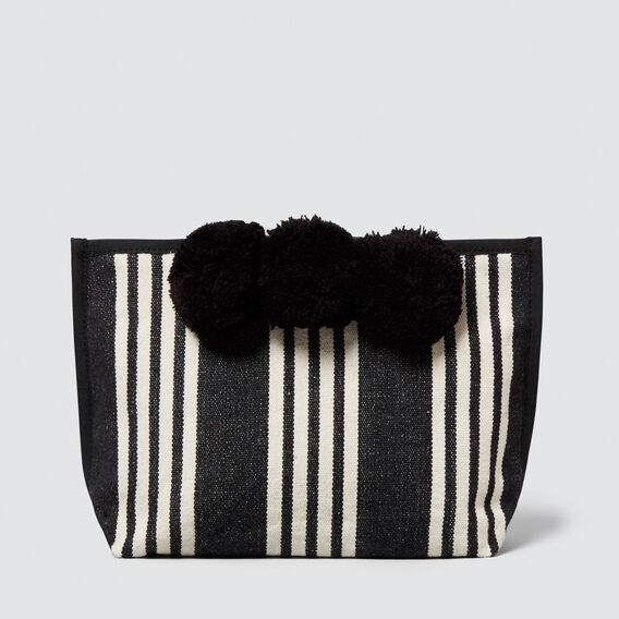 Pom Pom Cos Case  BLACK  hi-res