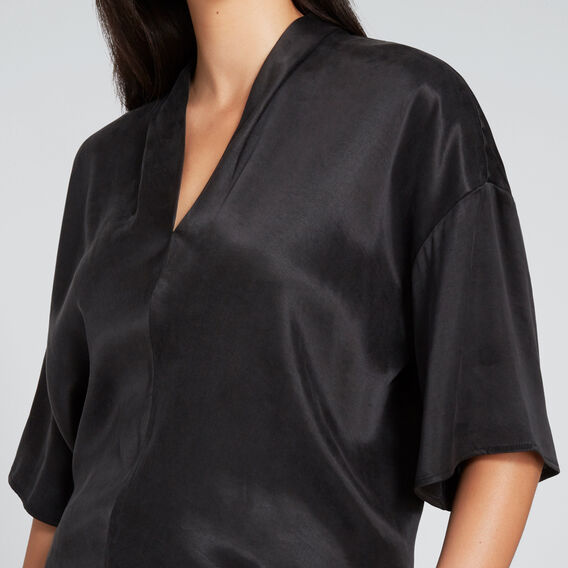 Kimono Blouse  BLACK  hi-res