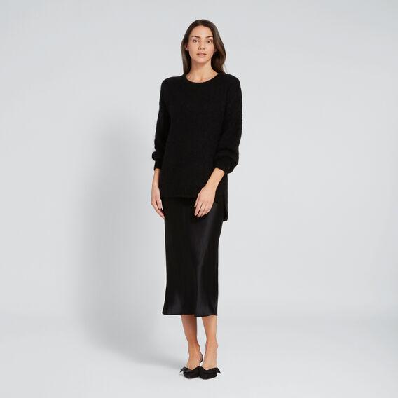Cosy Knit  BLACK  hi-res
