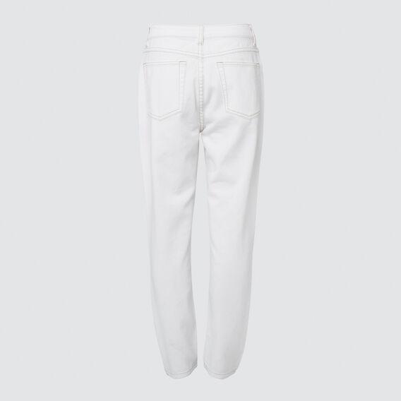 Classic Jean  CREME WHITE  hi-res