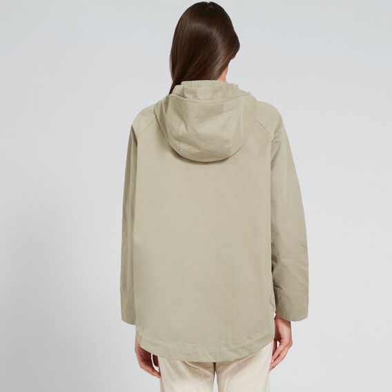 Cropped Parka Jacket  WASHED OLIVE  hi-res