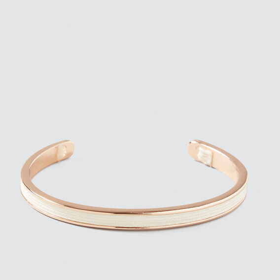 Thread Wrap Cuff  ROSE GOLD  hi-res