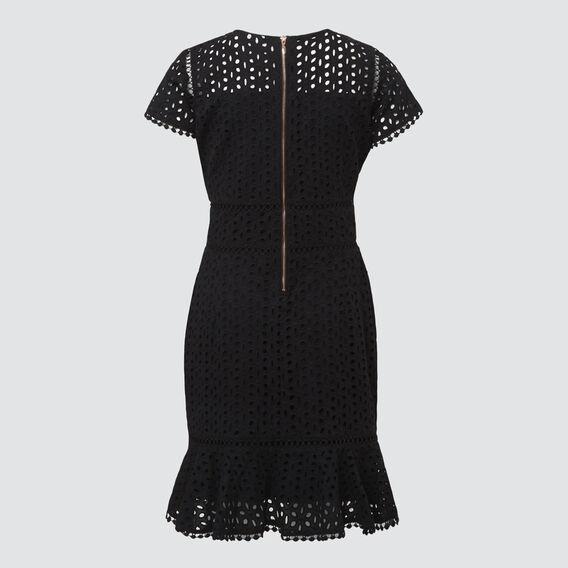 Lace Dress  BLACK  hi-res