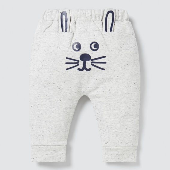 Novelty Bunny Trackie  CLOUDY MARLE  hi-res