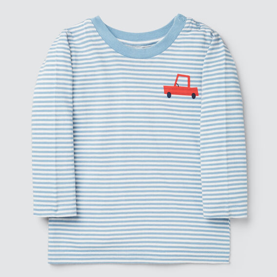 Stripe Car Tee  CLOUD BLUE  hi-res