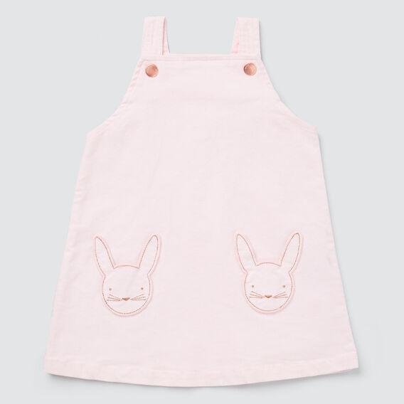 Bunny Pocket Pinafore  ICE PINK  hi-res
