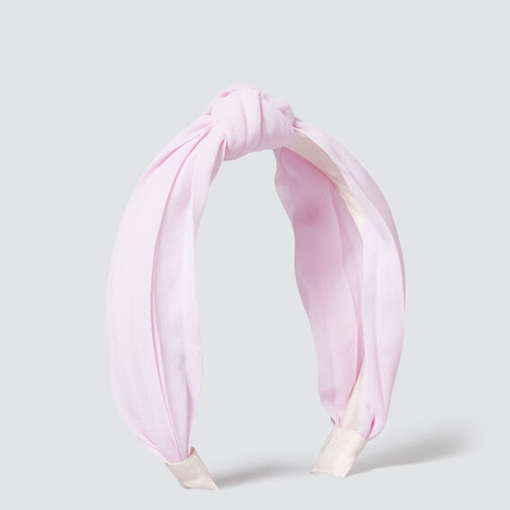 Turban Bow Headband  PINK  hi-res