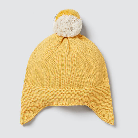 Knit Beanie  PALE MUSTARD  hi-res