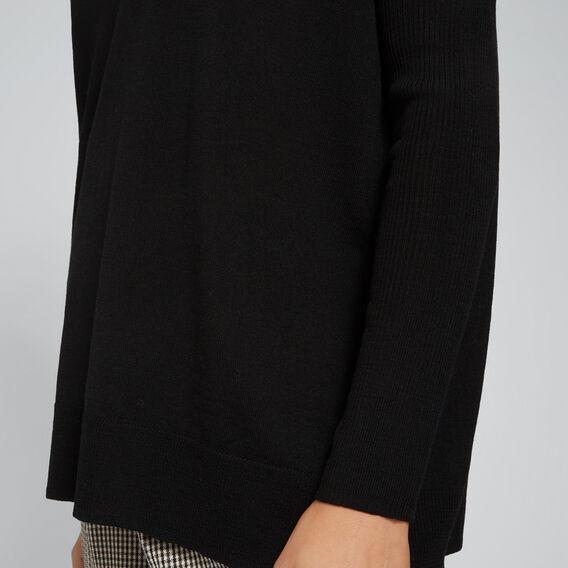 Babywool Comfy Sweater  BLACK  hi-res