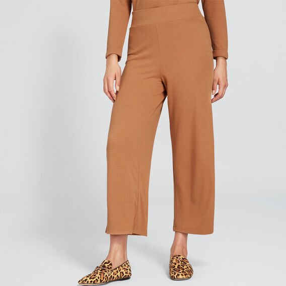Relaxed Textured Pant  VINTAGE BRONZE  hi-res
