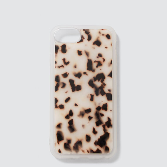 Resin Phone Case 6/7/8  LIGHT TORT  hi-res