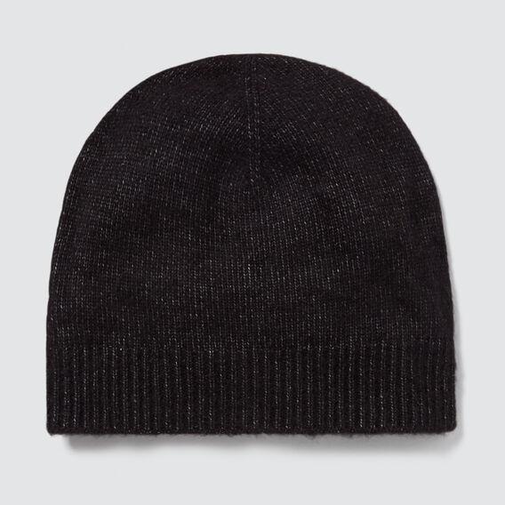 Classic Knit Beanie  BLACK  hi-res