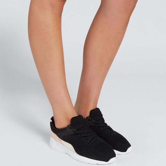 Ruby Knit Sneaker  BLACK  hi-res