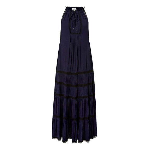 Boho Maxi Dress  INK BLUE/BLACK  hi-res