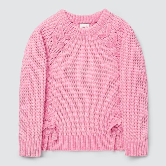 Chenille Sweater  PINK BLUSH  hi-res