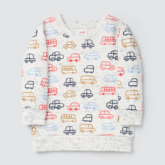Car Yardage Sweater  VINTAGE SPACE DYE  hi-res
