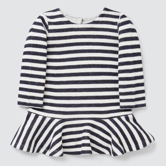 Knit Dress  NAVY/CANVAS  hi-res