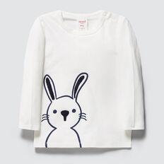 Bunny Print Tee  CANVAS  hi-res